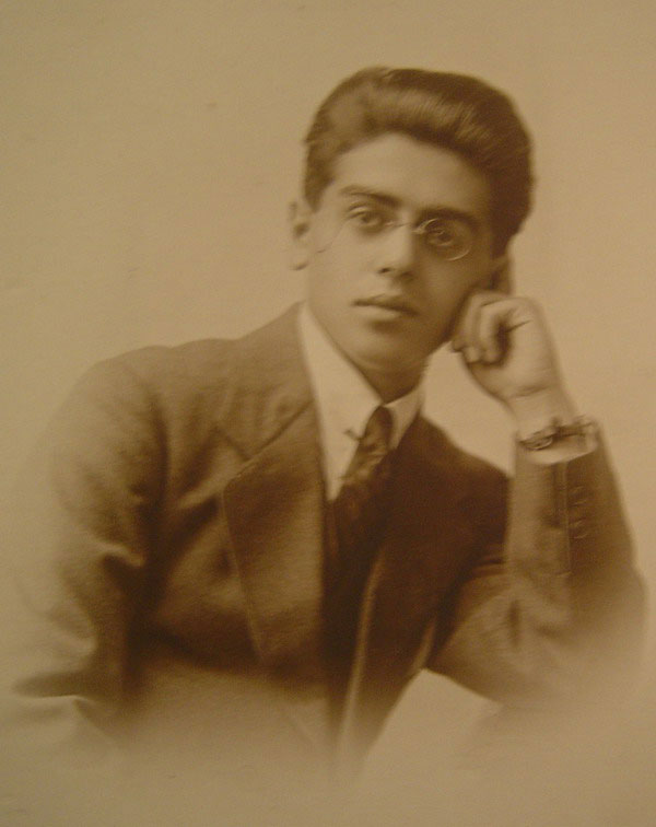 George Klionsky, Rosa`s brother in 1920s, London(?),England